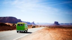 road trip to monument valley